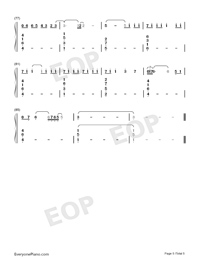 One-Lewis Capaldi-Numbered-Musical-Notation-Preview-5