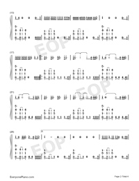 You Need To Calm Down-Taylor Swift-Numbered-Musical-Notation-Preview-2