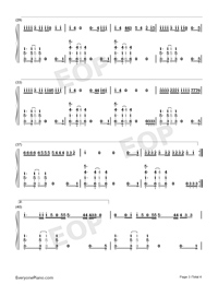 You Need To Calm Down-Taylor Swift Numbered Musical Notation Preview 3