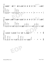 You Need To Calm Down-Taylor Swift-Numbered-Musical-Notation-Preview-4