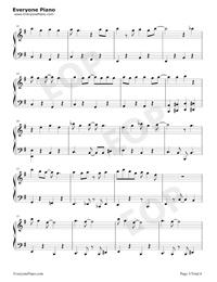 フレンド・ライク・ミー-アラジンOST五線譜プレビュー3