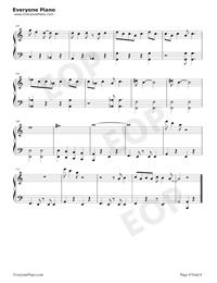 フレンド・ライク・ミー-アラジンOST五線譜プレビュー6