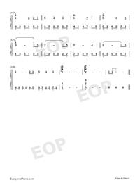 芬芳一生-完美獨奏版雙手簡譜預覽6