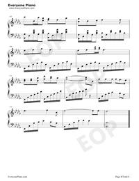 錦鯉抄-原版五線譜預覽8