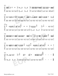 My Best Angel-Yico Zeng-Numbered-Musical-Notation-Preview-2