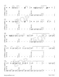 In This Together-Our Planet Theme-Numbered-Musical-Notation-Preview-2