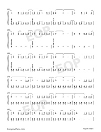 In This Together-Our Planet Theme-Numbered-Musical-Notation-Preview-4