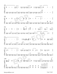 In This Together-Our Planet Theme-Numbered-Musical-Notation-Preview-5