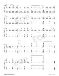 In This Together-Our Planet Theme-Numbered-Musical-Notation-Preview-6