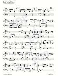 やりがいのある仕事-世界一初恋OST五線譜プレビュー2