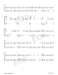 f l o w e r-Yiruma-Numbered-Musical-Notation-Preview-2
