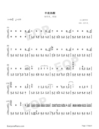 Wake Up at Midnight-Numbered-Musical-Notation-Preview-1