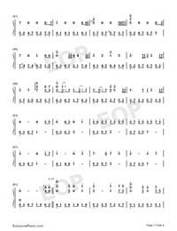 Wake Up at Midnight-Numbered-Musical-Notation-Preview-3