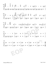 Wake Up at Midnight-Numbered-Musical-Notation-Preview-4