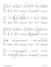 Señorita-Shawn Mendes and Camila Cabello-Numbered-Musical-Notation-Preview-4
