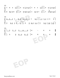 Señorita-Shawn Mendes and Camila Cabello-Numbered-Musical-Notation-Preview-5