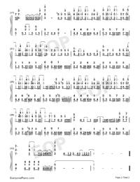 Atashi ga Tonari ni Iru Uchi ni-The Rising of the Shield Hero ED-Numbered-Musical-Notation-Preview-2