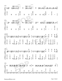 I Know What You Did Last Summer-Numbered-Musical-Notation-Preview-2
