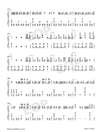 I Know What You Did Last Summer-Numbered-Musical-Notation-Preview-3