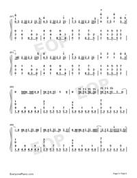 I Know What You Did Last Summer-Numbered-Musical-Notation-Preview-4