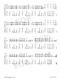 I Know What You Did Last Summer-Numbered-Musical-Notation-Preview-6