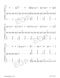 Roi-Eurovision Song Contest 2019-Numbered-Musical-Notation-Preview-2