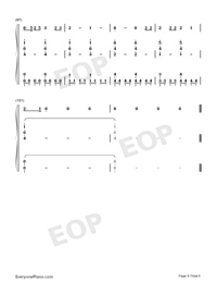 Roi-Eurovision Song Contest 2019-Numbered-Musical-Notation-Preview-8