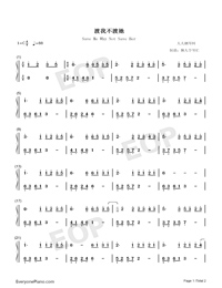 Save Me Why Not Save Her-Numbered-Musical-Notation-Preview-1