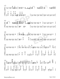 You Have a Pretty Smile-Full Version-Numbered-Musical-Notation-Preview-2