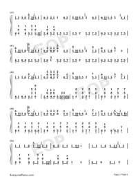 You Have a Pretty Smile-Full Version-Numbered-Musical-Notation-Preview-3