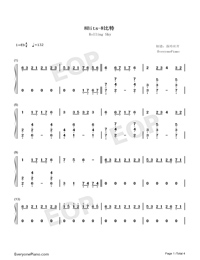 8 Bits-Rolling Sky OST-Numbered-Musical-Notation-Preview-1