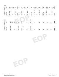 8 Bits-Rolling Sky OST-Numbered-Musical-Notation-Preview-4