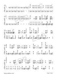 海の幽霊-海獣の子供主题歌両手略譜プレビュー4