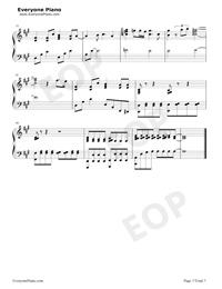 海の幽霊-海獣の子供主题歌五線譜プレビュー7