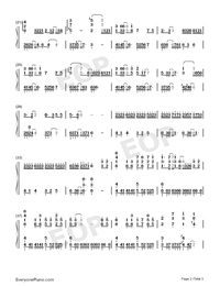 Space Ports-Mo Du Theme-Numbered-Musical-Notation-Preview-2