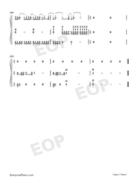 Speechless Accompaniment Version-Aladdin-Numbered-Musical-Notation-Preview-5