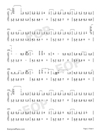 The Dawn Is Coming-Numbered-Musical-Notation-Preview-2