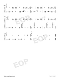 The Dawn Is Coming-Numbered-Musical-Notation-Preview-4