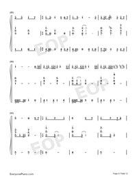 The Last Travel-Dragon Raja-Numbered-Musical-Notation-Preview-8