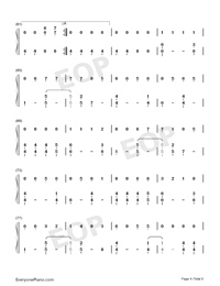 Dangerously-Charlie Puth-Numbered-Musical-Notation-Preview-4