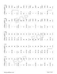 Dangerously-Charlie Puth-Numbered-Musical-Notation-Preview-6