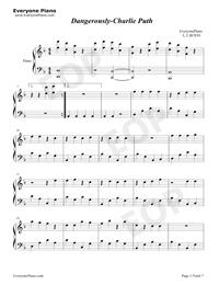 Dangerously-Charlie Puth五線譜預覽1