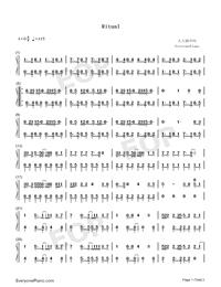 Ritual-Tiësto ft Jonas Blue ft Rita Ora-Numbered-Musical-Notation-Preview-1