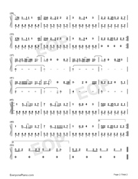Ritual-Tiësto ft Jonas Blue ft Rita Ora-Numbered-Musical-Notation-Preview-2