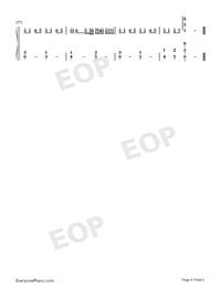 時光卷軸-雙笙和封茗囧菌雙手簡譜預覽4
