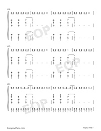 I Think Im Okay-Numbered-Musical-Notation-Preview-2