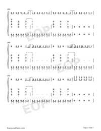 I Think Im Okay-Numbered-Musical-Notation-Preview-3