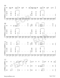 I Think Im Okay-Numbered-Musical-Notation-Preview-6