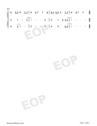 I Think Im Okay-Numbered-Musical-Notation-Preview-7