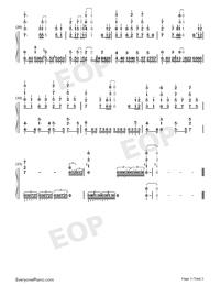 ハジメノウタ-ありふれた職業で世界最強ED両手略譜プレビュー3